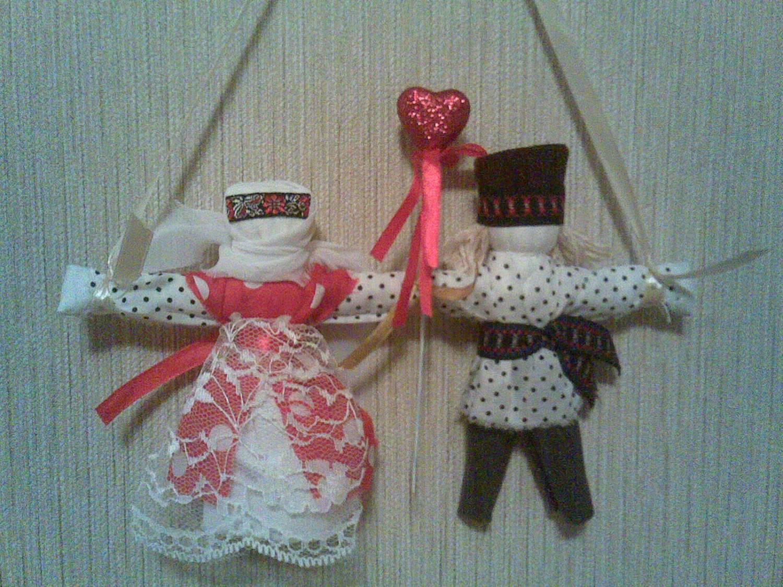 Неразлучники. Народная кукла из ткани, мастер-класс / Умелые